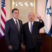 Nétanyahou s'expose au côté de Romney