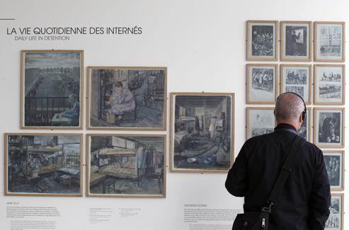 Environ 63.000 des 76.000 juifs déportés de France sont passés par Drancy.