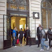iPhone 5 à Paris: sifflets et applaudissements