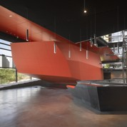 Un monolithe en rouge et noir pour Rennes
