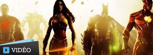 Superman, Batman et Wonder Woman au corps à corps