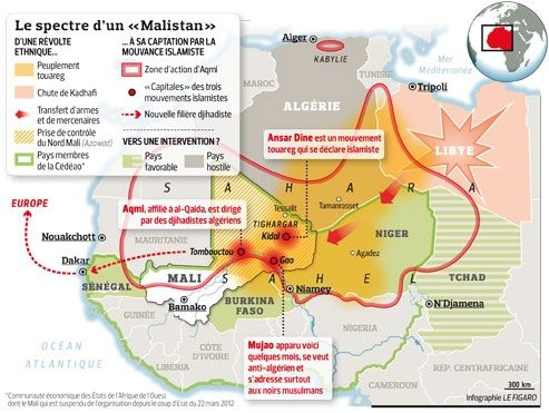 Mali: France pointed against al-Qaeda | Le Figaro | September 24, 2012 | Isabelle Lasserre | Posted on 09/26/2012 9:55:01 AM PDT by JerseyanExile