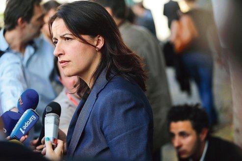 La ministre Cécile Duflot au congrès d'EELV, le 18 septembre à Nantes