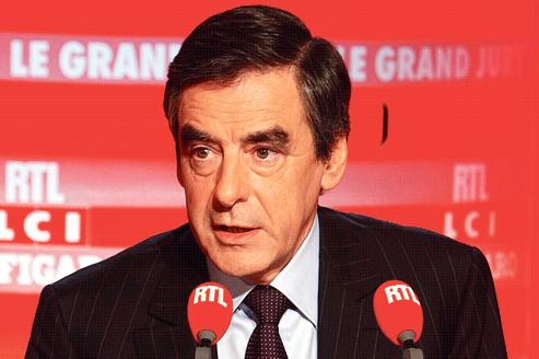 François Fillon, dimanche, au <i> </i>«Grand Jury RTL-LCI-Le Figaro»<i></i>.