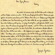 Goebbels : des lettres d'amour aux enchères
