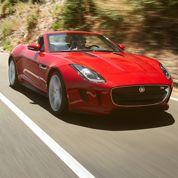 La Jaguar F-Type toutes griffes dehors