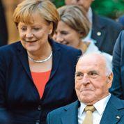 Helmut Kohl fêté par l'Allemagne