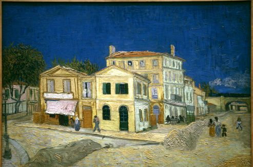La Maison jaune  (1888).