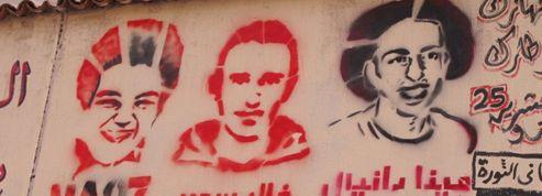 Les murs du Caire redessinent la révolution
