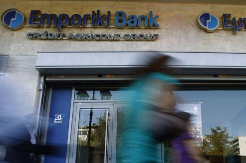 Le Crédit agricole en passe de sortir du guêpier grec