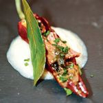 Chez Pierre-Sang in Oberkampf, une salve imposée de petites portions, façon menu dégustation.