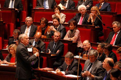 Jean-Marc Ayrault à l'Assemblée nationale, mardi dernier.