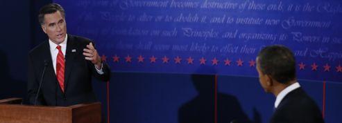 Romney domine Obama <br/>lors du premier débat