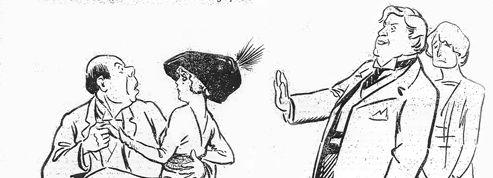 �La soir�e� : Sacha Guitry <br/>vu par <i>Le Figaro</i> en 1912
