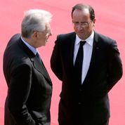 Hollande se penche sur l'Europe du Sud