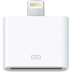 Apple vend 29 euros cet adaptateur entre l'ancien et le nouveau connecteur.