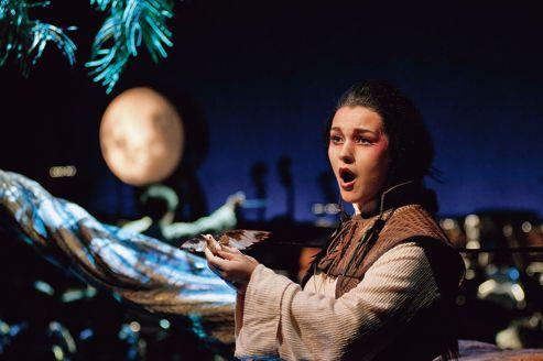 <i>Le Rossignol</i> de Stravinsky, dirigé par Kazushi Ono et mis en scène par Robert Lepage à l'Opéra de Lyon.