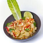La salade Yam Som'O de la Bauhinia.