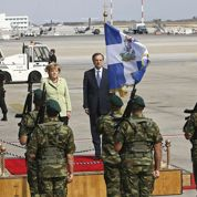 La journée sous tension de Merkel à Athènes