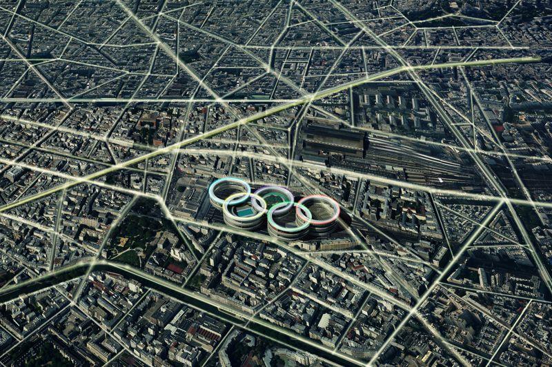 La Gare de l'Est, village olympique.