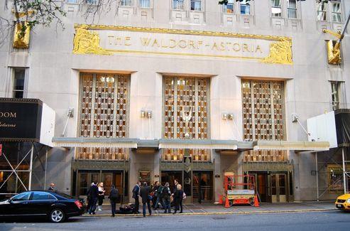 L' hôtel Waldorf Astoria de Manhattan était le point de chute habituel de Nicolas Sarkozy lors de ses séjours à New-York pendant le sommet annuel des Nations-Unies. Crédits photo: Maurin Picard