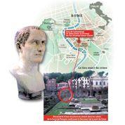 Le lieu de l'assassinat de Jules César localisé