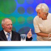 L'Allemagne isolée à la réunion du FMI