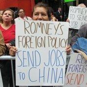 Des ouvriers s'en prennent à Romney
