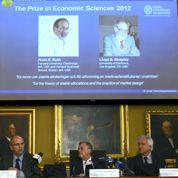 Nobel d'économie: deux Américains distingués