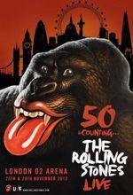 L'affiche du concert des 50 ans des Rolling Stones.