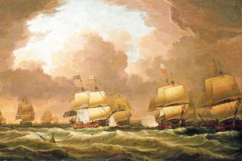 La bataille des Cardinaux, le 20 novembre 1759. L'épave du «Thésée» a été localisée au sud-ouest de l'île Dumet.