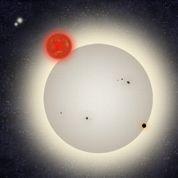 Une planète à quatre soleils découverte