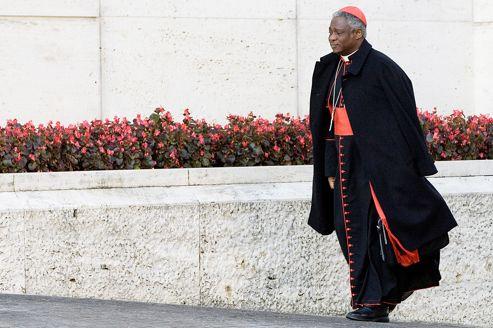 Le cardinal Peter Turkson, ici lors du synode des évêques africains, à Rome, le 24 octobre 2009, se défend de toute «intention de déclencher un djihad contre l'islam».