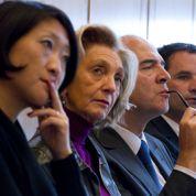 Six ministres pour la banque des PME