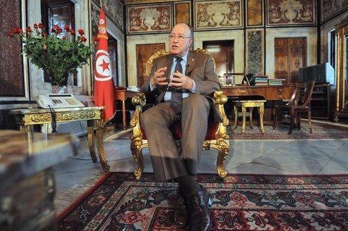 Moustapha Ben Jaafar, président de l'Assemblée constituante tunisienne.