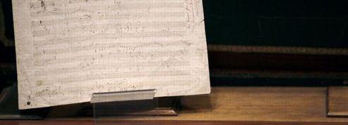 Beethoven : un manuscrit inédit vendu 250.000 euros