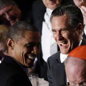Obama et Romney s'offrent une trêve