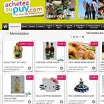Page d'accueil du site Achetezaupuy.com.