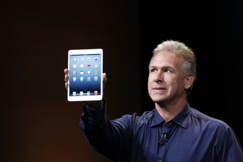Phil Schiller présente l'iPad mini. Crédits photo : ROBERT GALBRAITH