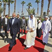 Gaza fait un triomphe à l'émir du Qatar