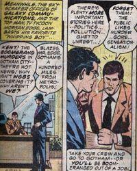 Clark Kent n'est plus en phase avec sa direction. Crédits: DC Comics.