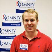Mike Jadin compte les voix pour Romney