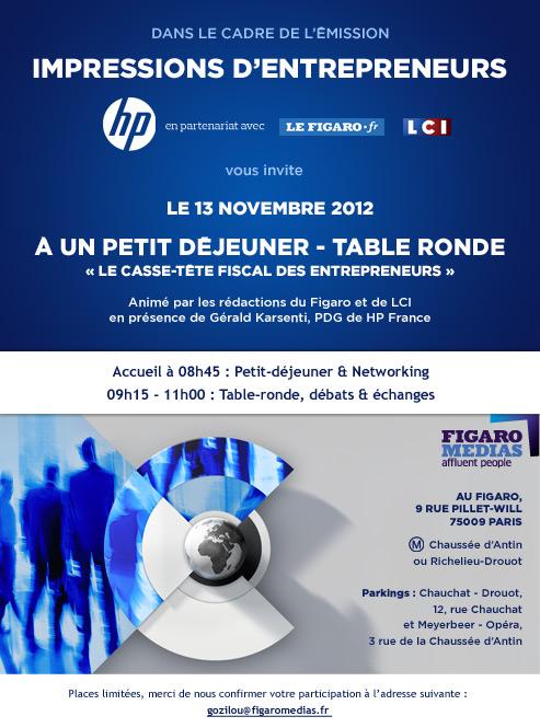 HP Impressions d'entrepreneurs