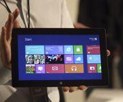 L'une des nouvelles tablettes numériques présentées par Microsoft.