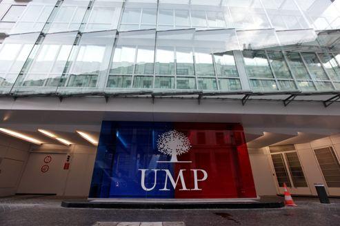 Le siège de l'UMP, à Paris.