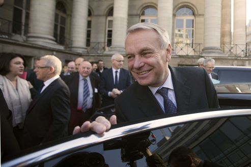 Jean-Marc Ayrault, vendredi à Paris.