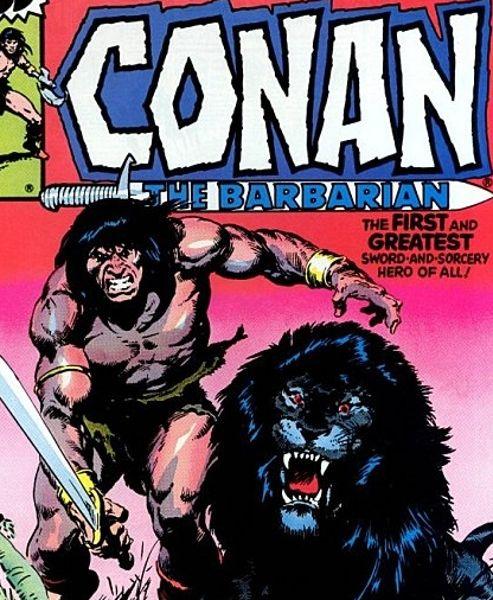 Conan dessiné par John Buscema (DR)