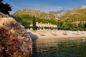 A l'époque de la Yougoslavie, la Villa Milocer accueillait déjà les stars de Hollywood.