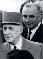 «De Gaulle? Vivre, pour lui, c'était sans aucun doute faire l'histoire...» (Georges Pompidou)C/ COLLECTION ALAIN POMPIDOU/DR