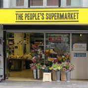 À Londres, un magasin recycle les aliments